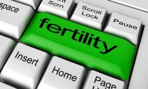 51930423 - fertility word on keyboard button
