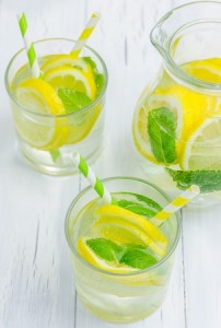 lemon drinks photo